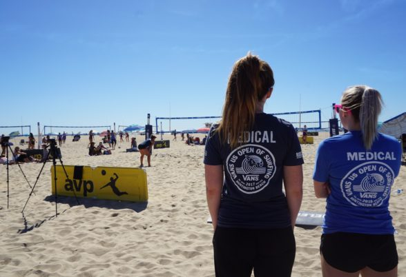 Coast Medical Team Beach Volleyball